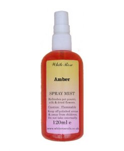Amber Fragrance Room Sprays (Paraben Free)