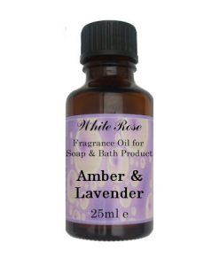 Amber & Lavender Fragrance Oil For Soap Making.