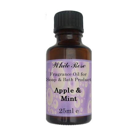 Apple & Mint Fragrance Oil For Soap Making.