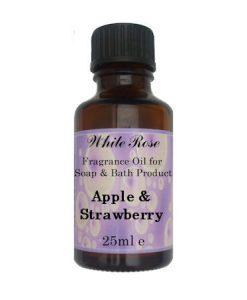 Apple & Strawberry Fragrance Oil For Soap Making.