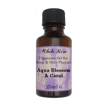 Aqua Blossom & Coral Fragrance Oil For Soap Making.