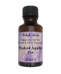 Baked Apple Pie Fragrance Oil For Soap Making.