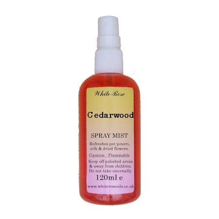 Cedarwood essential fragrance room spray