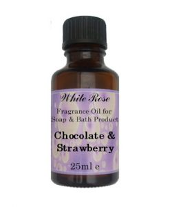 Chocolate & Strawberry Fragrance Oil For Soap Making.