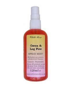 Cocoa & Log Fire Fragrance Room Sprays (Paraben Free)