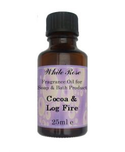 Cocoa & Log Fire Fragrance Oil For Soap Making.