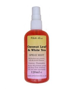 Coconut Leaf & White Tea Fragrance Room Sprays (Paraben Free)