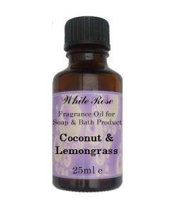 Coconut & Lemongrass Fragrance Oil For Soap Making.