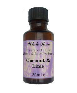 Coconut & Lime Fragrance Oil For Soap Making.
