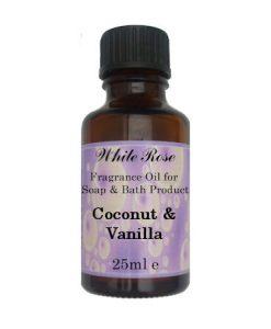 Coconut & Vanilla Fragrance Oil For Soap Making.