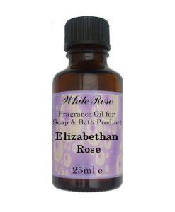 Elizabethan Rose Fragrance Oil For Soap Making.
