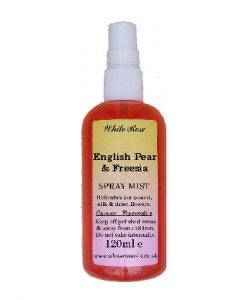 English Pear & Freesia Fragrance Room Sprays (Paraben Free)