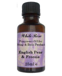 English Pear & Freesia Fragrance Oil For Soap Making.