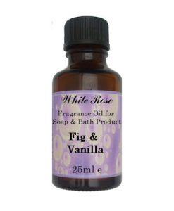 Fig & Vanilla Fragrance Oil For Soap Making.