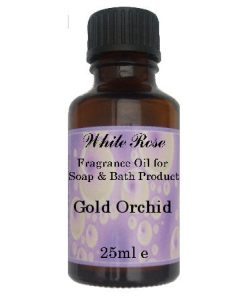Gold Orchid Fragrance Oil For Soap Making.