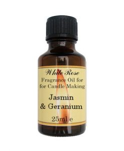 Jasmin & Geranium Fragrance Oil For Candle Making