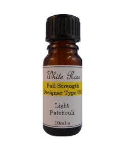 Light Patchouli Designer Type FULL STRENGTH Fragrance Oil (Paraben Free)