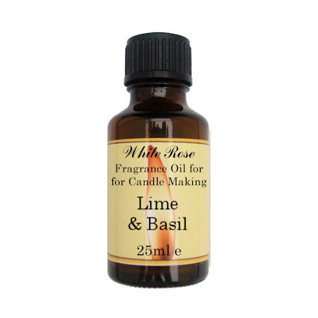 Lime & Basil Fragrance Oil For Candle Making