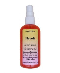 Neroli light essential fragrance room spray