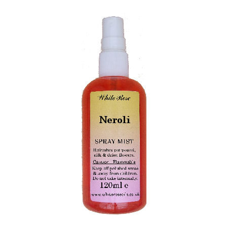 Neroli light essential fragrance room spray