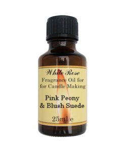 Pink Peony & Blush Suede Fragrance Oil For Candle Making