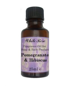 Pomegranate & Hibiscus Fragrance Oil For Soap Making