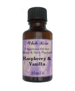 Raspberry & Vanilla Fragrance Oil For Soap Making