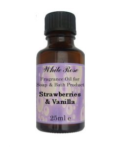 Strawberry & Vanilla Fragrance Oil For Soap Making