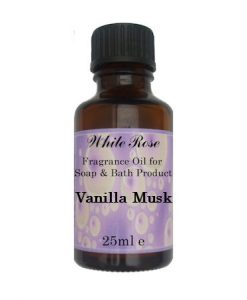Vanilla Musk Fragrance Oil For Soap Making