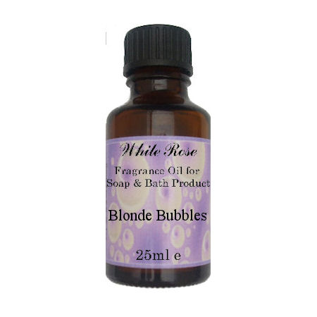 Blonde Bubbles Fragrance Oil For Soap Making.