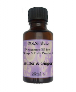 Butter & Ginger Fragrance Oil For Soap Making.